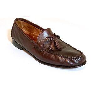 Allen Edmonds Urbino cordovan tassel loafers